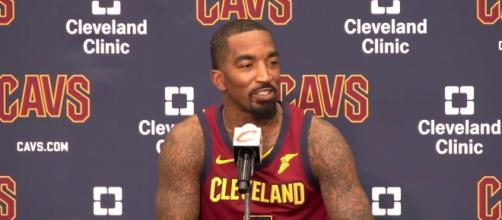 J.R. Smith talks about getting of the bench. (Image Credit - ESPN/YouTube Screenshot)