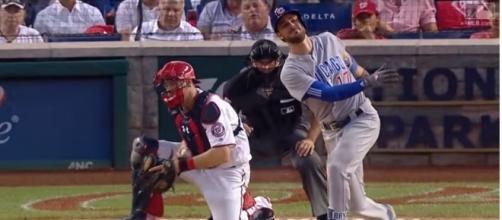 Kris Bryant strikes out against Stephen Strasburg - image - MLB / Youtube