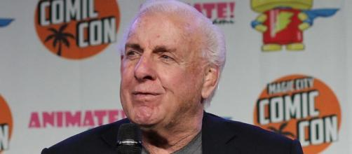 Ric Flair on Mount Rushmore of Wrestling - [Image by Steve Cranston / Wikimedia Commons CC SA-AT 2.0]
