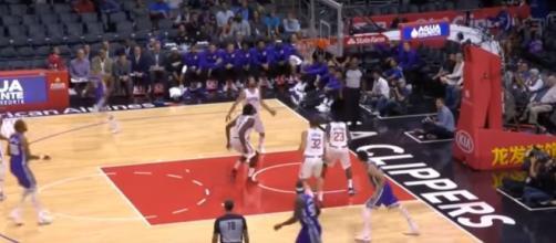 Sacramento Kings vs LA Clippers via NBA Conference/YouTube