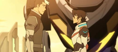Shiro confronts Keith about his duties. (Photo Credit: Voltron/Youtube)