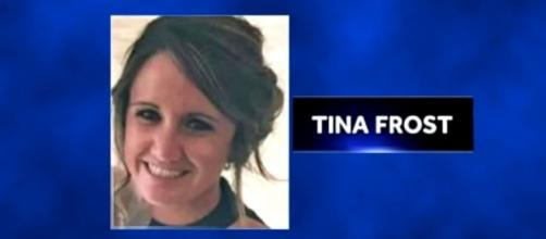 Tina Frost received a bullet to her forehead in the Vegas shooting but has now come around from her coma [Image: WBAL-TV 11 Baltimore/YouTube]