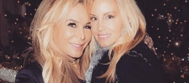 Adrienne Maloof and Camille Grammer. [Image Credit: Adrienne Maloof/Instagram]