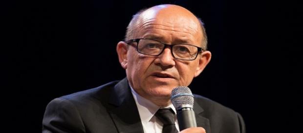 Jean-Yves Le Drian, ministre français des Affaires Etrangères