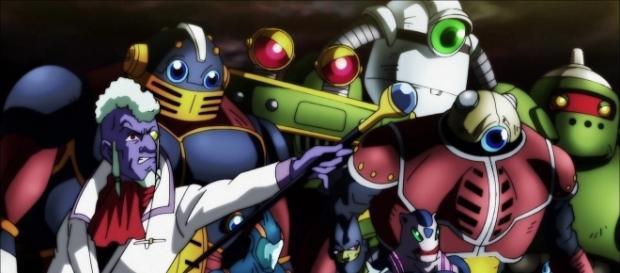 Los miembros del Universo 3 de Mosco Sama