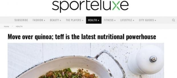 Move over quinoa; teff is the latest nutritional powerhouse - Teff ... - com.au