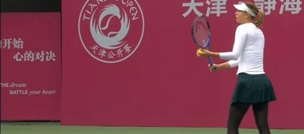 Sharapova vs Shuai Peng - Tianjin Open 2017 SF HD Highlights from Adventures Tennis/YouTube
