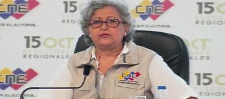 CNE anuncia resultado de elecciones regionales