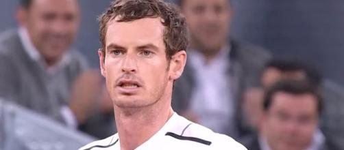 Andy Murray at 2017 Mutua Madrid Open/ Photo: screenshot via ATPWorldTour channel on YouTube