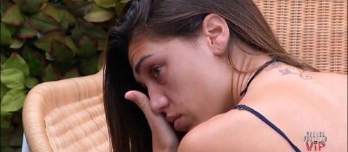Cecilia in lacrime per il fratello Jeremias (liveblog.grandefratello.mediaset.it)