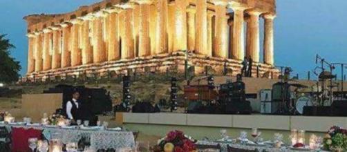 Cena di Google Camp al tempio della Concordia-Fonte: travelnostop.com