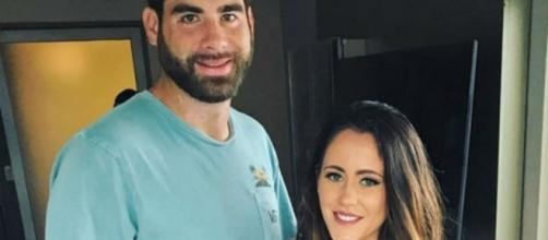 David Eason and Jenelle Evans visit a bridal store in New York City. [Photo via Instagram]
