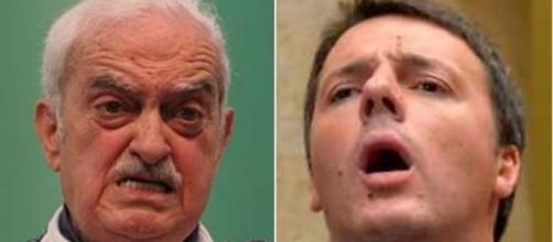 Emanuele Macaluso boccia la gestione Pd targata Matteo Renzi e critica la legge elettorale