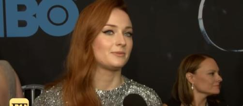 """Game of Thrones"" actress Sophie Turner is engaged to Joe Jonas. [Image Credit: YouTube/ET]"