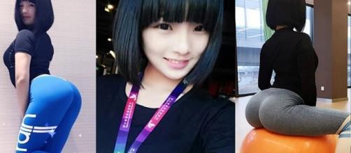 Gao Qian, a dona do bumbum mais bonito e maior da China
