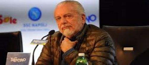 Il Patron azzurro Aurelio De Laurentiis