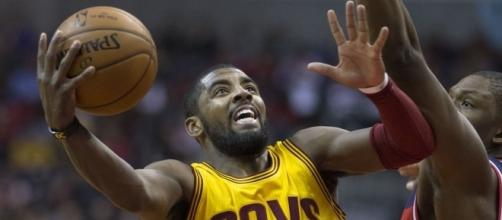 Kyrie Irving will not be wearing the Cavaliers Jersey again. He's joingingthe new-look Celtics - Photo by Flickr.com no photograpaher cited