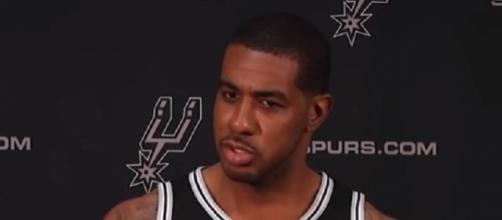 LaMarcus Aldridge averaged 17.3 points, 7.3 rebounds and 1.2 blocks per game last season -- NBA NEWS via YouTube