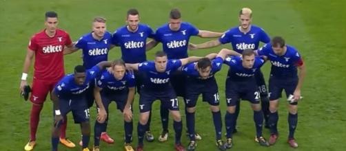 L'undici titolare della Lazio contro la Juventus