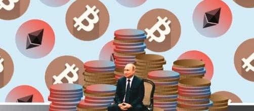 Russia plans to issue its own cryptocurrency [Image via The Modern Investor/Youtube screencap]