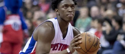 Stanley Johnson of the Detroit Pistons (Image Credit: Keith Allison/Flickr)