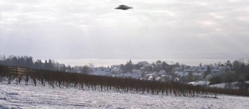 UFO {image courtesy of Stefan-Xp wikimedia commons]