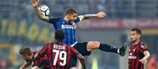 Uno scatto di Inter-Milan 3-2.