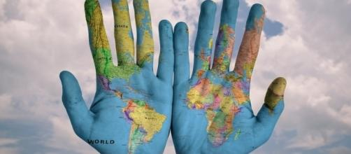 We've got the whole world in our hands (Image Pixabay)