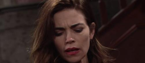 'Young and the Restless' spoilers - Victoria's dizzy spell leads to tragic car crash (Image via YouTube Young and the Restless)
