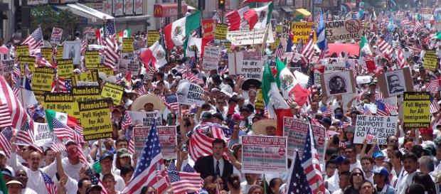 America and its new immigration policy [Image Credit: Jonathan McIntosh/Wikimedia Commons]