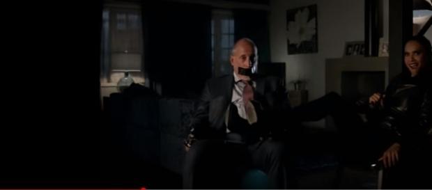"Lesley Ann-Brandt returns as bounty hunter Maze as ""Lucifer"" season 3 episode 3. (Photo Credit :Lucifer/YouTube)"