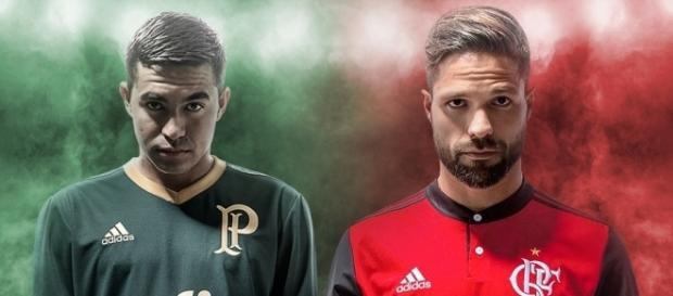 Palmeiras e Flamengo podem fazer troca de jogadores, já pensando em 2018.