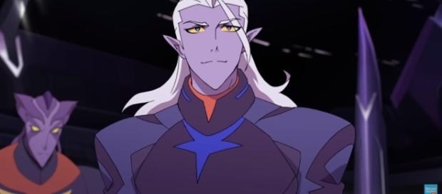 Prince Lotor in Voltron season 3. Credits to: (Image Credits: DreamworksTV/Youtube)