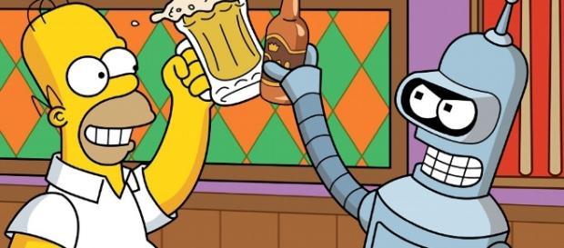 Sin tv ni cerveza homer pierde la cabeza