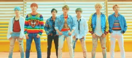 BTS 'DNA' Official Music Video (Image Credit: ibighit/YouTube)