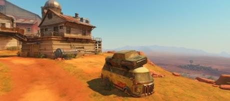 """""""Overwatch"""" gude on how to attack on Junkertown. [Image Credit: Blizzard Entertainment]"""