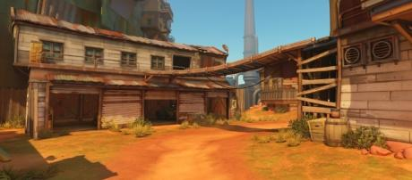 """""""Overwatch"""" guide on how to defend on Junkertown map. Image Credit: Blizzard Entertainment"""