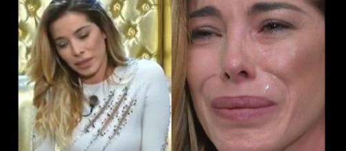 Aida Yespica in lacrime al Grande Fratello