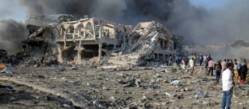 Ataque terrorista na Somália - Foto: EPA
