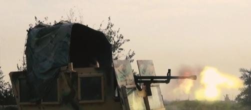 Battaglia per liberare Raqqa - vittoria USA
