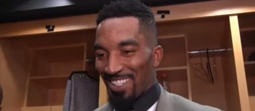 Cavaliers guard J.R. Smith is not threatened by the Celtics -- FOX Sports Ohio via YouTube