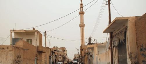 Center of Raqqa [Image via Bertramz wikimedia commons]