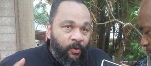Dieudonné Mballa Mballa candidat aux élections présidentielles camerounaises (c) Yannick Mbazoa