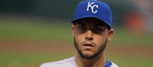 Eric Hosmer will likely receive a large deal in free agency. Image Source: Wikimedia Commons