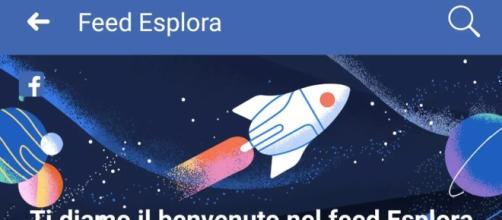 Facebook lancia il Feed Esplora su app e desktop