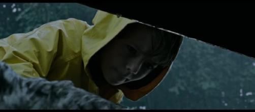Georgie and the sewer scene (Source: Warner Bros. Pictures via YouTube)