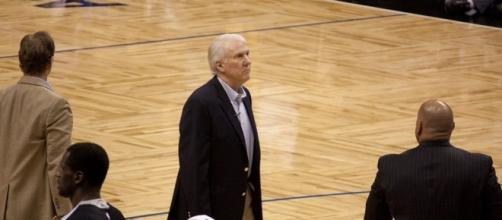 Gregg Popovich - Mike via Wikimedia Commons