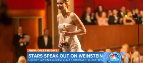 Harvey Weinstein Gets Slammed By Jennifer Lawrence And Other Stars | Image credit - TODAY | YouTube