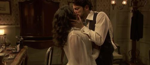 Il Segreto, anticipazioni: Hernando fa l'amore con Lucia