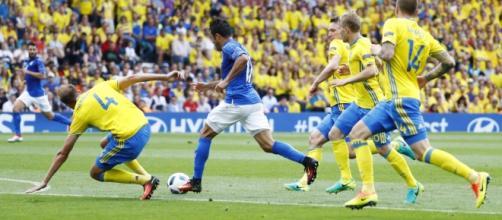 Italia-Svezia: Eder ha firmato l'ultima vittoria azzurra sugli scandinavi